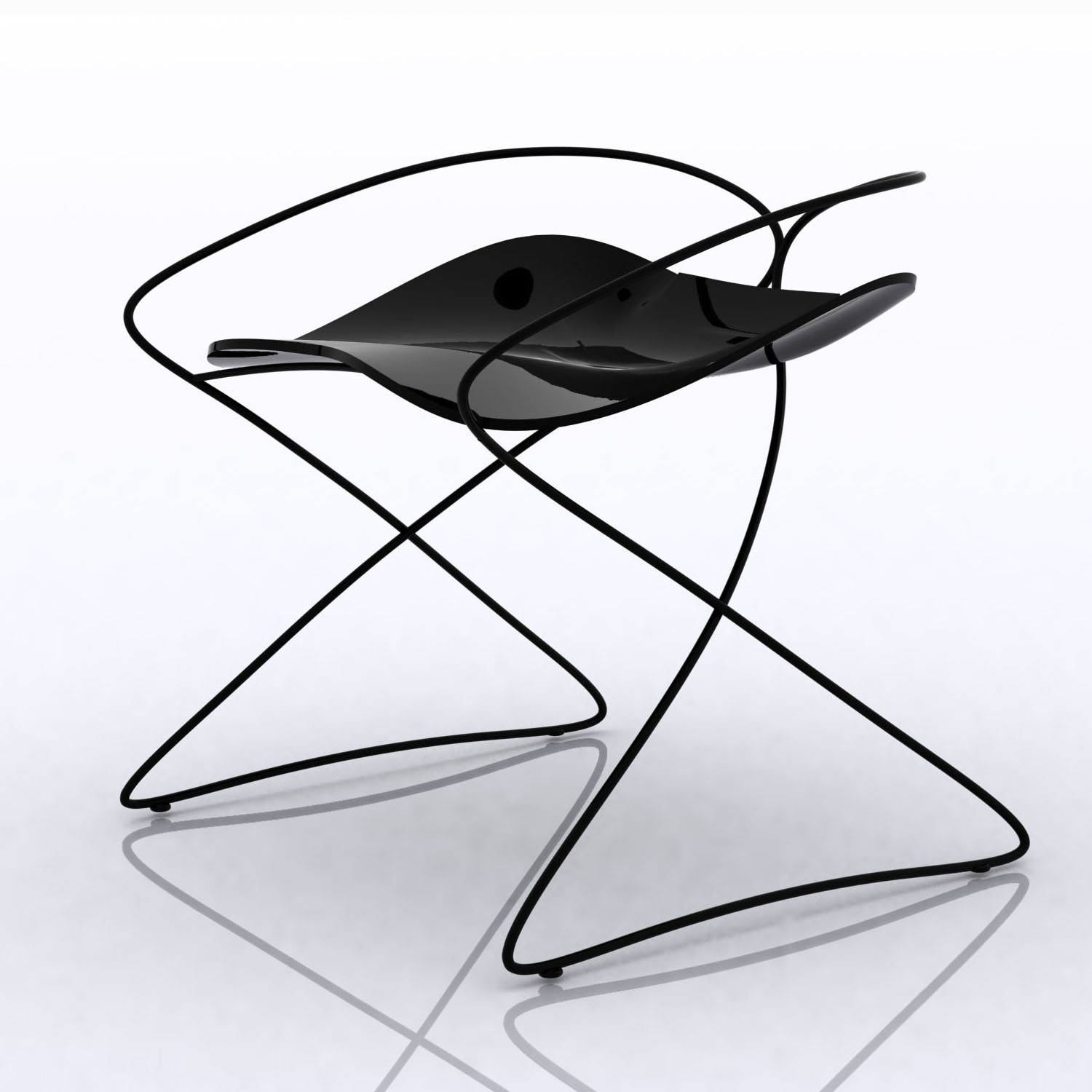 Whippet good designer hugh thomas kollektor for Industrial design chair